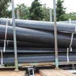 PVC voergoten, diverse lengtes