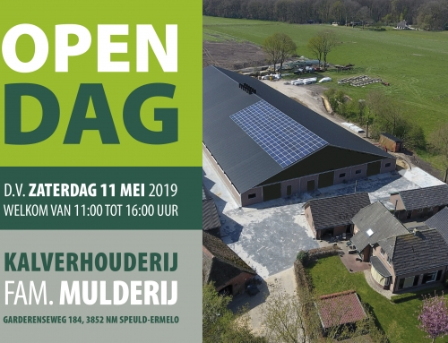 Open dag zaterdag 11 mei 2019